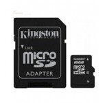 Kingston 16GB microSDHC CL4 + Adapter