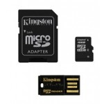 Kingston 16GB microSDHC CL4 + Adapter + Reader