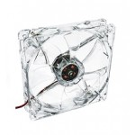 Akyga AW-12A-BR 12cm LED (red) fan
