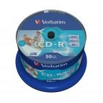 Verbatim CD-R 700MB 52x Disc (50 db / csomag)