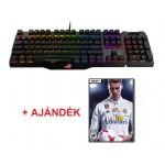 ASUS ROG Claymore Gaming Keyboard HU + Ajándék FIFA 18