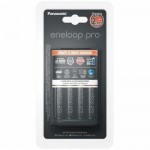 Panasonic Eneloop Pro BQ-CC55 Charger + 4db 2500AA (K-KJ55HCD40E)