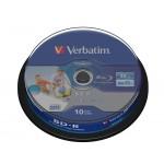 Verbatim BD-R 25GB 6x Disc (10 db / csomag)