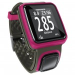 TomTom Runner GPS Running Watch Dark Pink