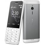 Nokia 230 Dual SIM Ezüst