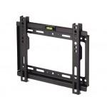 Maclean LCD TV/Monitor fali tartó (17 - 37) - Fekete