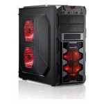 FCPC X2 Számítógépház - Fekete