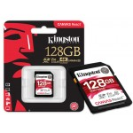 Kingston 128GB SDXC Canvas React UHS-I U3 Class 10