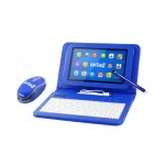 Overmax EduSET 7 Case with keyboard + Pen + Mouse Blue