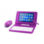 Overmax EduSET 7 Case with keyboard + Pen + Mouse Purple