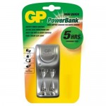 GP Power Bank PB25 Mini Quick AA/AAA NiMH tölt&#337,