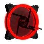 AeroCool Red LED Dual Ring Lighting 120mm fan