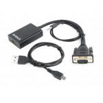 Adapter DSUB - HDMI + Audio (A-VGA-HDMI-01)