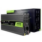 Green Cell 2000W Inverter 12V