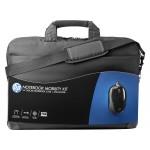 HP Mobility Kit 16 Laptop táska + Egér (Fekete)