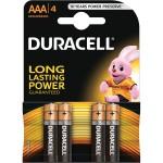 Duracell Basic Elem AAA (4db)