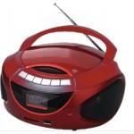 Navon NPB 300 CD lejátszós rádió Piros