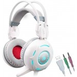 A4Tech Bloody G300 Comfort Glare Gaming Headset White